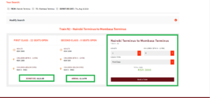 sgr booking online