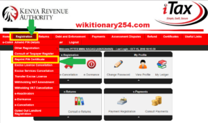 How can I get my KRA PIN online