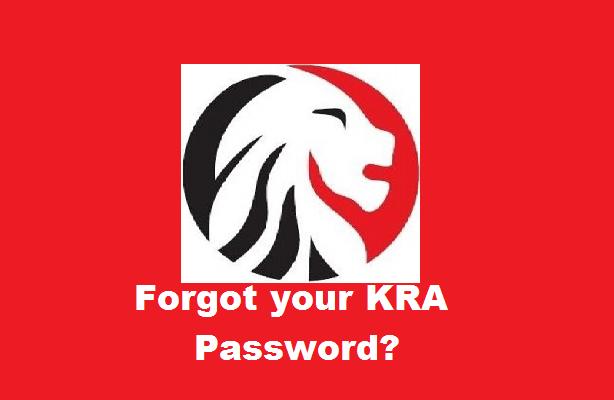 How To Reset a Forgotten KRA iTax password