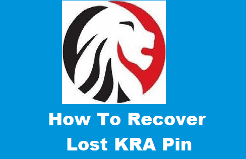 4 Simple Methods of Recovering a lost KRA pin number