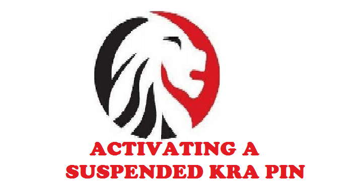 how to reactivate your suspended kra pin