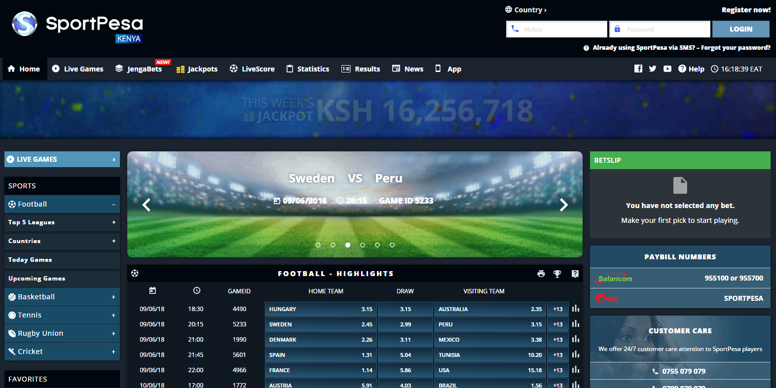 How to Create, Retrieve, and Reset your Sportpesa Account