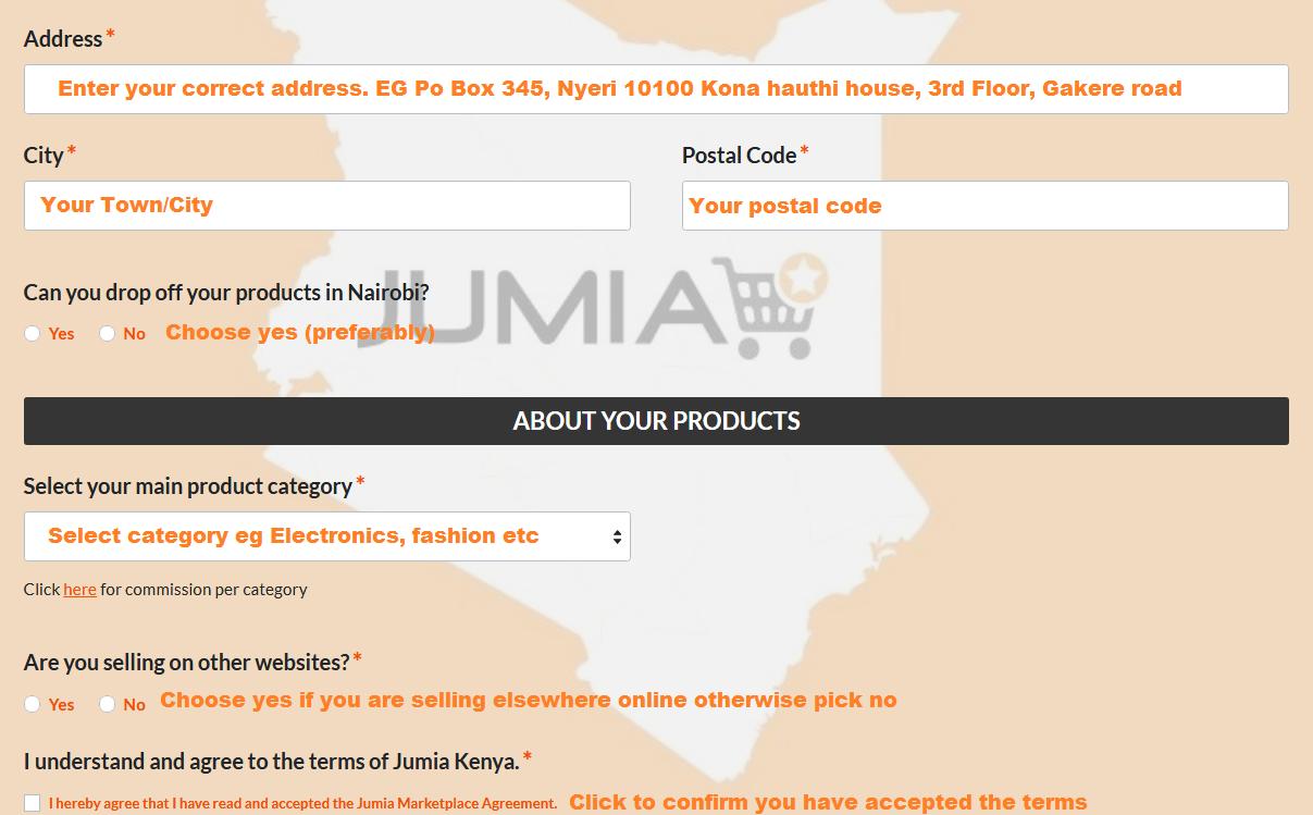 jumia vendor services