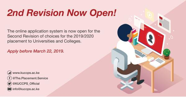 kuccps second revision 20192020
