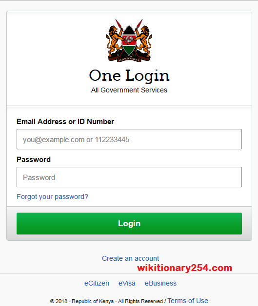 eCitizen Kenya: What it is, How to register, and Reset your