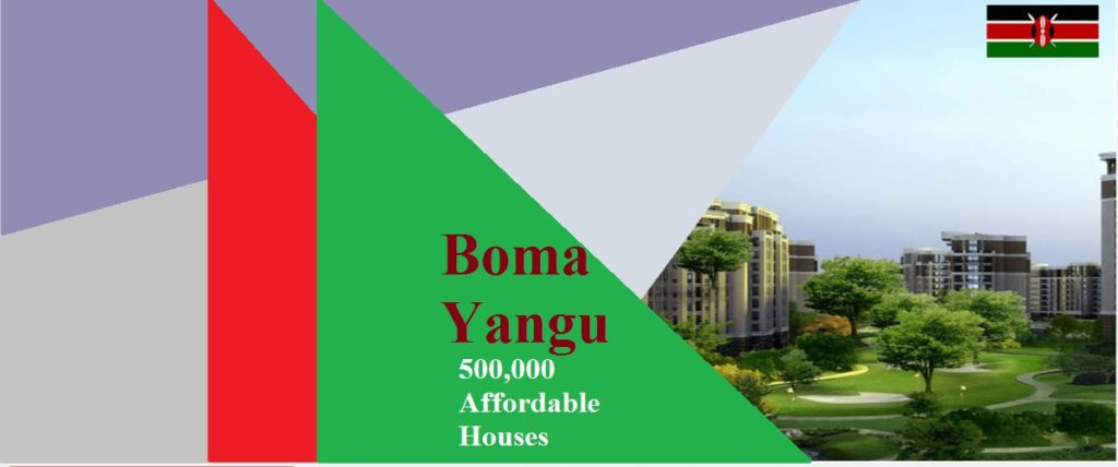 How to register for the Boma Yangu Affordable Housing Initiative