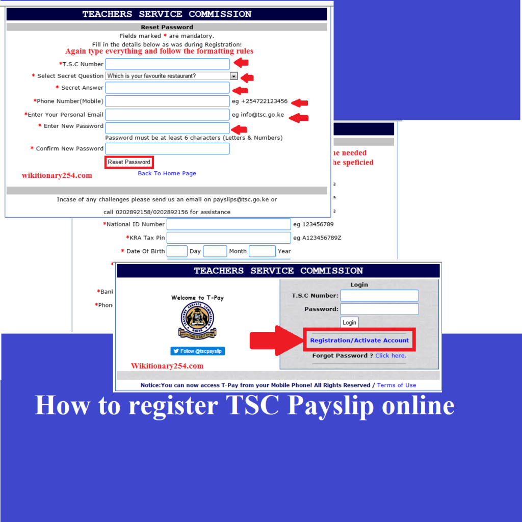 TSC Payslip Online: Here is how to register and download your Payslip