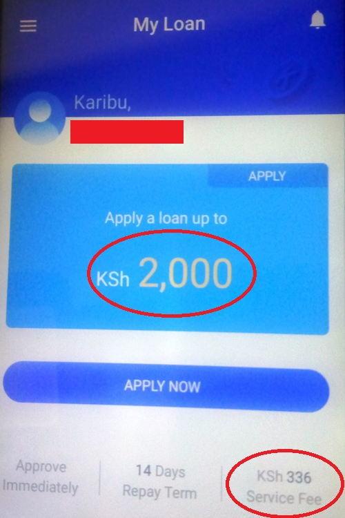 Haraka loan application
