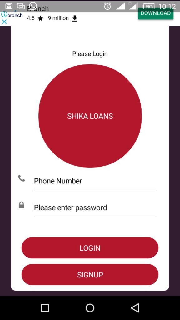 shika loan app download