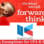 ACCA Exemptions For CPA Kenya