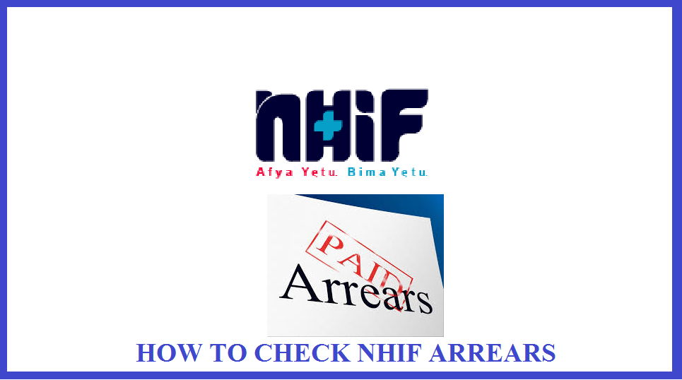 how to check NHIF arrears