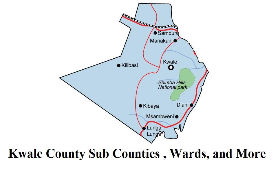 Kwale County Sub Counties