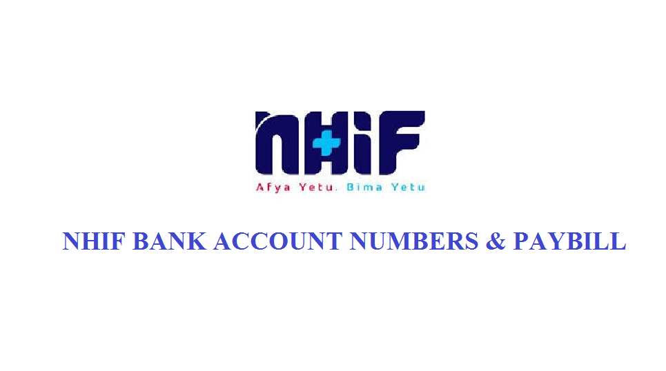 NHIF bank accounts