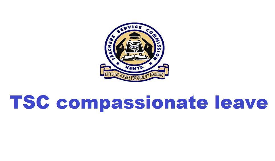 TSC compassionate leave