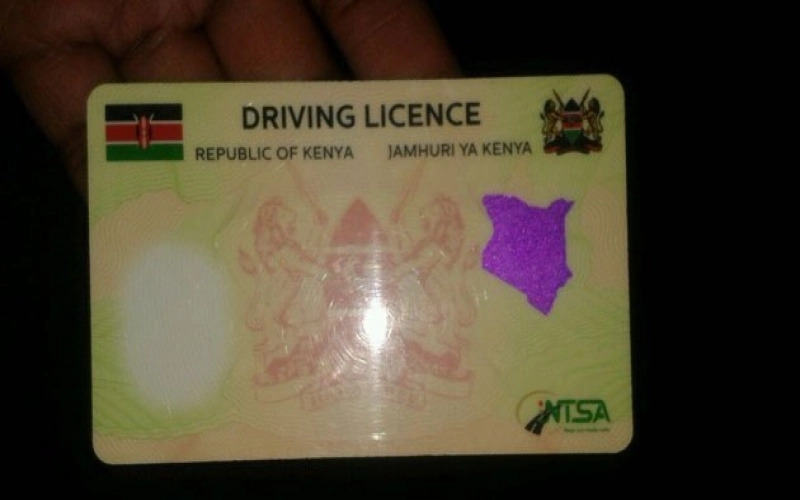 NTSA new driving licence