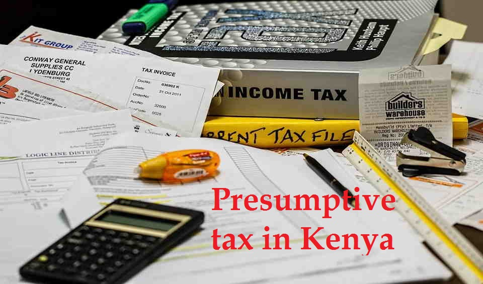 Presumptive tax meaning
