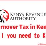 Turnover tax Kenya
