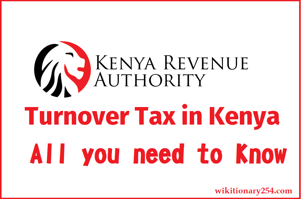 Turnover tax Kenya